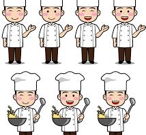 中華料理店のレジ・ホールスタッフ